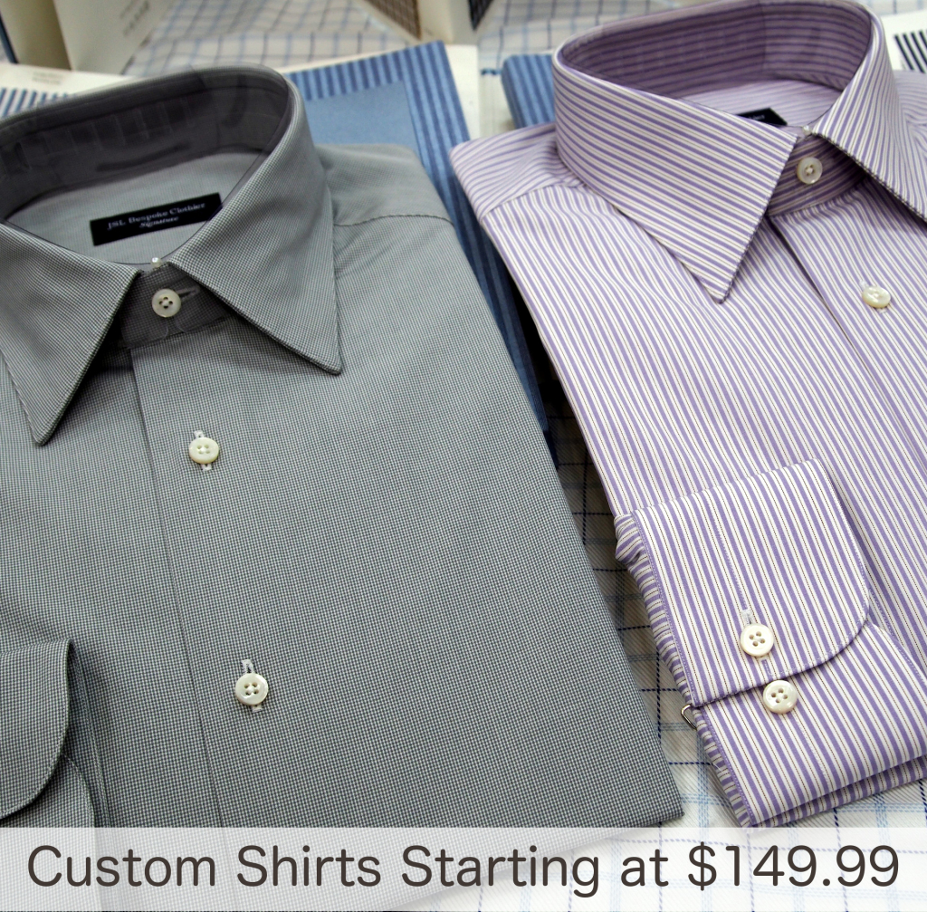 Custom Shirts Homepage Image